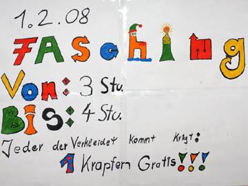 Fasching Ernst Barlach Schulen Munchen