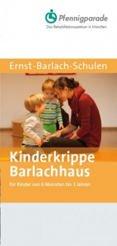 Flyer Kinderkrippe